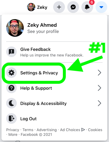 How to add follow button on facebook profile - Step 2